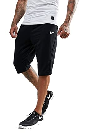 9f932620 NIKE Men's Training Dri-FIT Fleece Shorts (XL, Black)