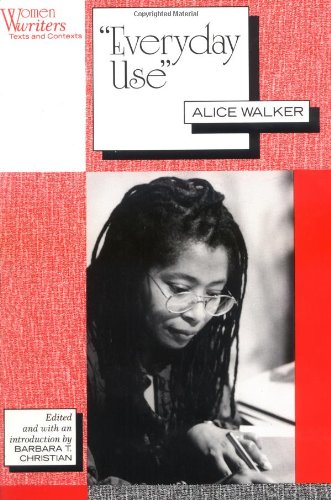 an overview of the african american culture in the novel everyday use by alice walker Alice walker's novel everyday use - running head the other significance for heritage speaks to the african-american culture alice walker's novel everyday use.