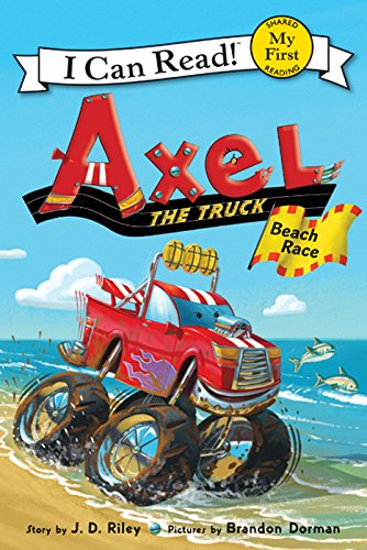 Axel the Truck: Beach Race (My First I Can Read) (My Little Book Of Big Trucks compare prices)
