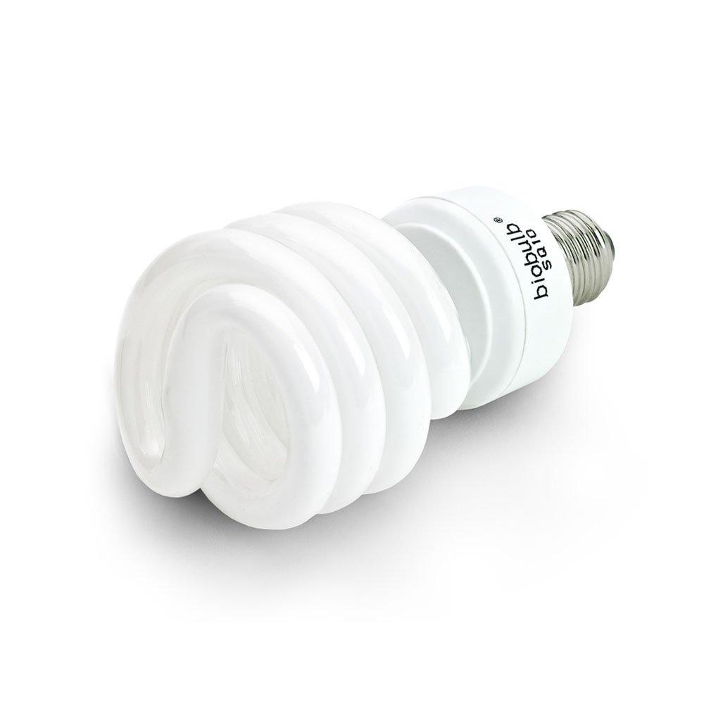 Ecozone Biobulb, Energy-Saving Daylight Bulb, Screw Cap, 25W