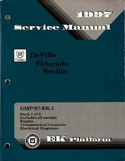 amazon com bishko automotive literature 1997 cadillac deville rh amazon com 1997 cadillac deville service manual pdf 1994 Cadillac DeVille