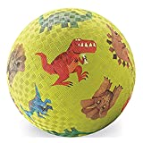 "Crocodile Creek Dinosaurs Playground Ball, Green, 7"""