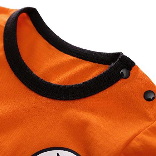 2f25f14a2f13 Jual Dragon Ball Goku Baby Costume Newborn Infant Boy Clothes Romper ...