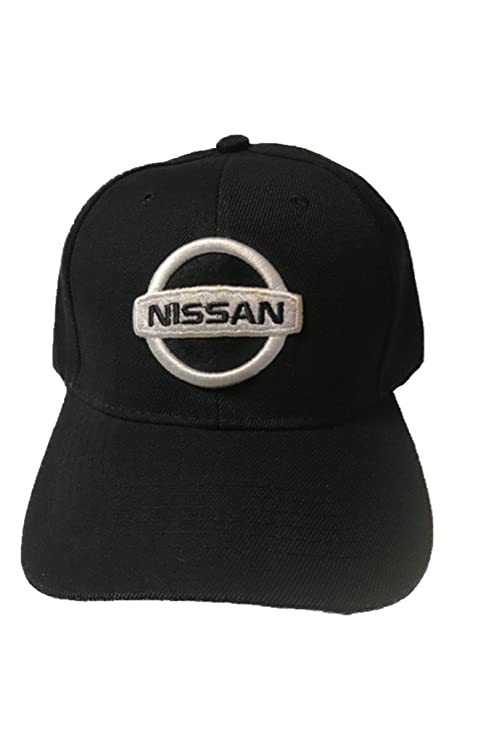 1464920890f Amazon.com  Nissan Baseball Cap Hat Black. 3D Emblem. Adjustable. New   Everything Else