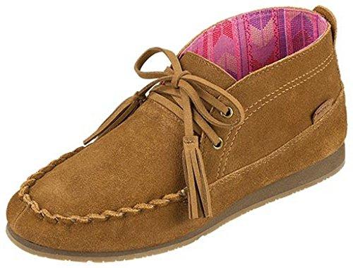 Sanuk Casual Shoes Women Moccodile Chukka 7 M Chestnut SWF10800 For Sale