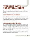 DIY Industrial Pipe Furniture and Decor: Creative