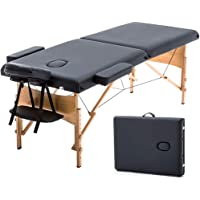 T-LoVendo TLV-MT15B Camilla masaje plegable de madera mesa