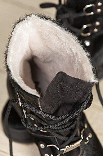 Overland Saueskinn Co Womens Ammann Zermatt Shearling-lined Okseskinn Støvler