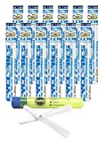 Cyclones Unflavored Pre Rolled Cones Clear (12 Packs) with Rolling Paper Depot Kewl Tube