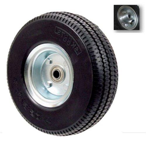 ProBache-Rueda hinchable eje de pie, diámetro 16 mm, 250 mm ...
