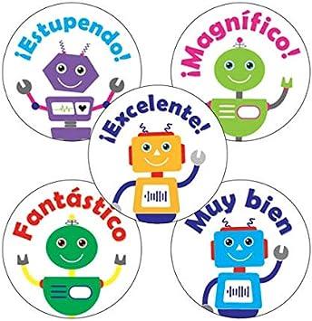 150 pegatinas de recompensa de 25 mm para niños y alumnos de la ...