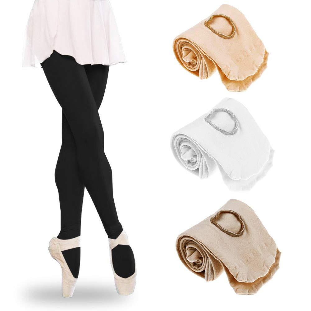 Femme Collants de ballet Ballet Collants de danse /à pied sans coutures Dancewear NEUF pour pour enfant fille et femme s rose