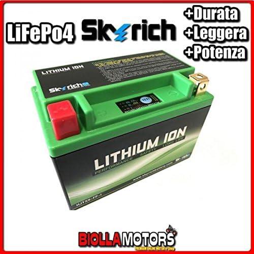 Hjtx9 Fp Lithium Batterie Skyrich Ytx9 Bs Lifepo4 612090 Ytx9bs Motorrad Scooter Quad Cross Auto