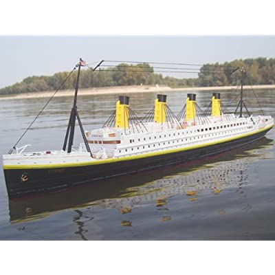 Brigamo RC RMS TITANIC 1:325 R/C BOAT RC SHIP Ready to Run (RTR): Toys & Games