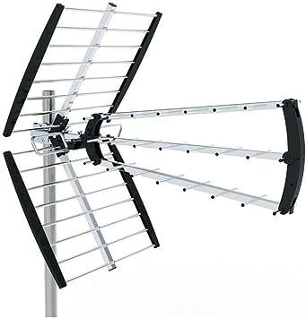 Metronic 415029 Antena para tejado, Negro