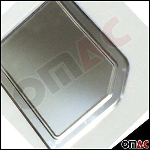 T4 alle Modelle Tankdeckel Blende EDELSTAHL Chrom OMTEC