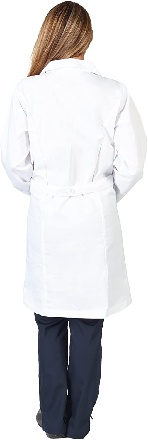 Natural Uniforms Unisex 40 inch Lab Coat, White: Clothing