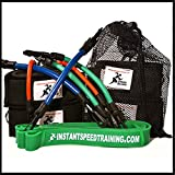 Speed Bands Resistance band Leg Training set for Running Power Agility Acceleration Muscle Endurance and Explosive Strength | Football, Track and Field and all Sports