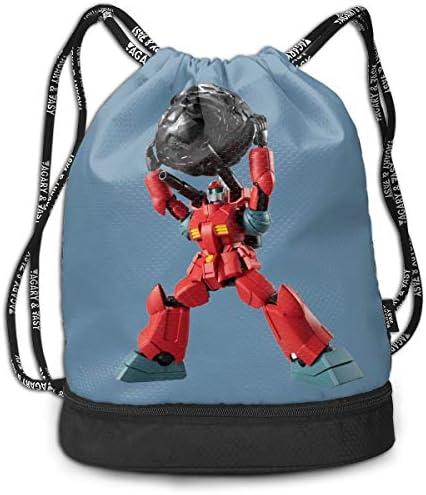 ナップサック機動戦士ガンダム (4) メンズ レディース 兼用 アウトドア ジムサック バッグ 軽量 スポーツ 収納バッグ 登山 自転車 防水仕様 バッグ 巾着袋 通学・通勤・運動 ・旅行に最適 アウトドア 収納バッグ