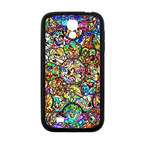 JIANADA Cartoon Fairy Story Black Samsung Galaxy S4 case