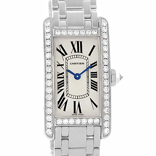 Cartier Tank Americaine quartz womens Watch WB7073L1 (Certified Pre-owned)