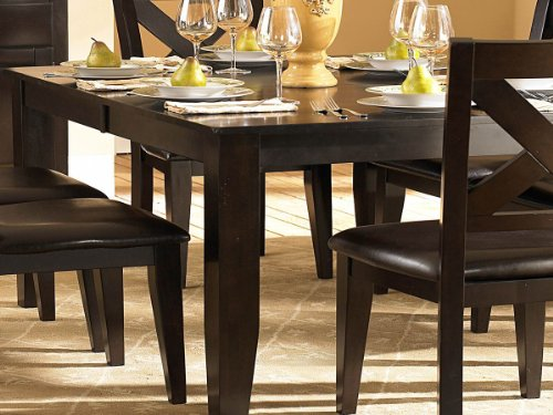 Inspire Q Dining Table of Crown Point Collection by Homelegance # 1372-78