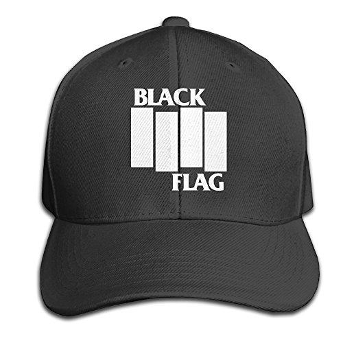 Perfidious Flag Band's Logo Raymond Pettibon Snapback Adjustable Flat Bill Cap