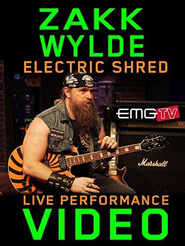 Zakk Wylde - Electric Shred - EMGtv Live Performance