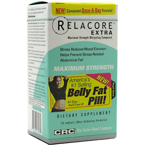 Carter Reed Société - Relacore Extra Strength maximale Formula - 72 Tablets