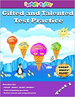 Amazon.com: Gifted and Talented Test Practice (Volume 1) (9781978136434): Smarty Buddy LLC: Books