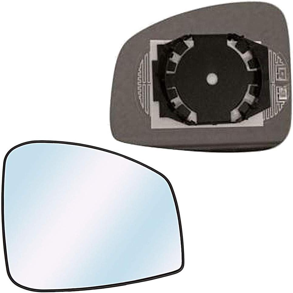 Miroir de Remplacement pour R/étroviseur droit d/égivrant pour SCENIC de 2009 /à 2011