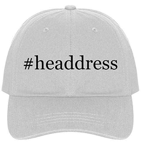 The Town Butler #Headdress - A Nice Comfortable Adjustable Hashtag Dad Hat Cap, White