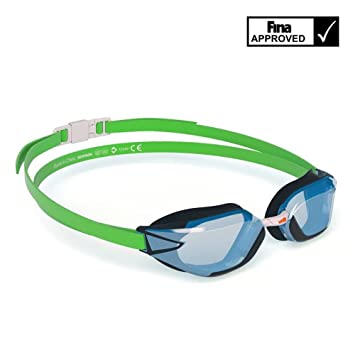 7d1f85285f922 Nabaiji B Fast Schwimmbrille - Fluo Lime: Amazon.de: Sport & Freizeit