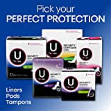 U by Kotex Security Maxi Pads with