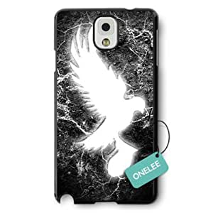 Kingsface Onelee - Hollywood Undead Hard Plastic Samsung Galaxy Note 3 case cover & Cover - Black MaIFeemTWyH 10