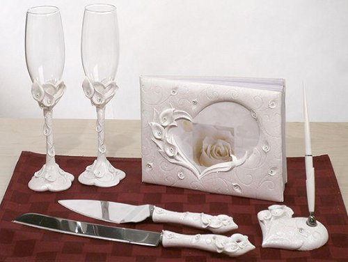 Crystal Calla Lily Set C404407 Quantity of 1 by Lillian Rose