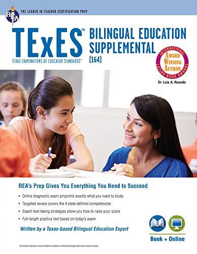 Pdf Test Preparation TExES Bilingual Education Supplemental (164) Book + Online (TExES Teacher Certification Test Prep)