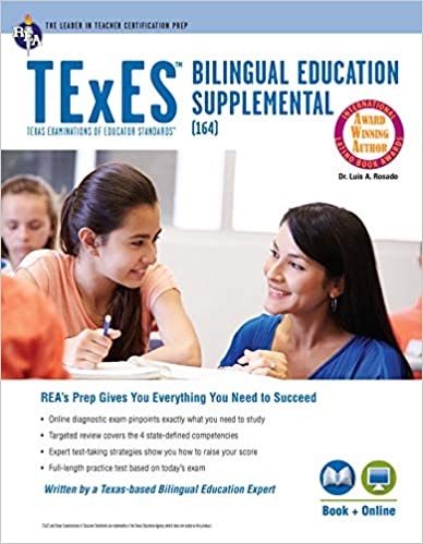 texes bilingual education supplemental (164) book + online (texes ...