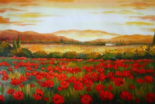 100% Hand Painted Canvas Oil Painting,