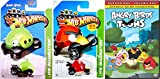 Angry Birds Toons Season One Animated DVD & Hot Wheels car Set 26 Cartoon Episodes & RED BIRD + Minion Pig Set