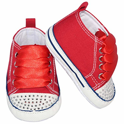 unique-baby-baby-girl-canvas-sneaker-with-rhinestones-12-18-month-red