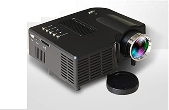 Mini proyector portátil, proyector LED Home Cinema Theater con USB ...