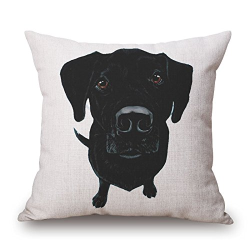 Bulldog Natural Bar Stool - Bestseason Pillowcover 16 X 16 Inches / 40 By 40 Cm(each Side) Nice Choice For Birthday,teens,shop,deck Chair,bar Seat,indoor Dog
