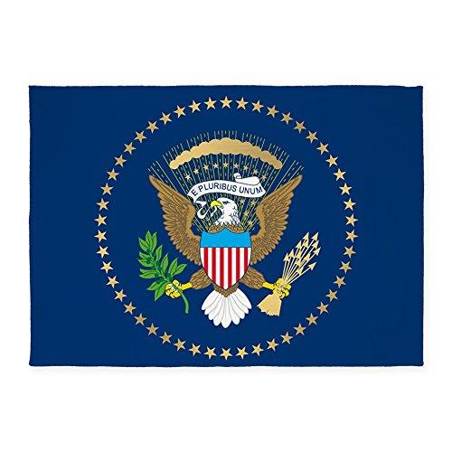 CafePress - Presidential Seal - Decorative Area Rug, 5'x7' Throw Rug