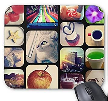 with Its Photos of The Instagram Creates Mouse Pad 7x8.66 Inch: Amazon.es: Electrónica