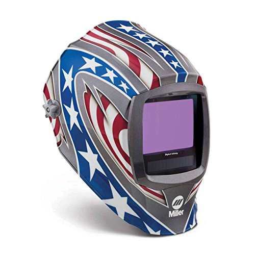 Auto Darkening Welding Helmet, Lithium, 5A by Miller Electric