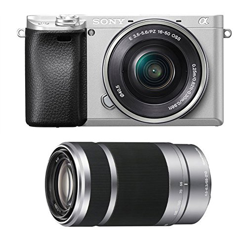 Sony Alpha a6300 Silver Mirrorless Digital Camera Lens Bundle (2 Lens Kit) Review