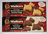 Walkers Pure Butter Shortbread Scottie Dog Variety 2-pack Regular...