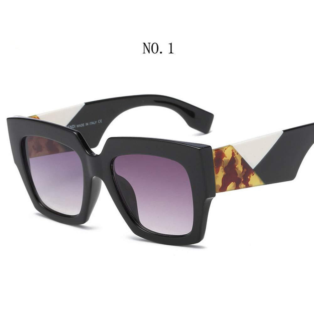 Amazon.com: ZLYZ Sunglasses Square Oversized Sunglasses ...