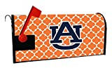 AUBURN TIGERS MAILBOX COVER-AUBURN UNIVERSITY MAGNETIC MAIL BOX COVER-MOROCCAN DESIGN